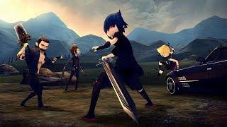 Final Fantasy XV Pocket Edition HD PS4 Gameplay Primeiros 52 Minutos Legendado PT BR