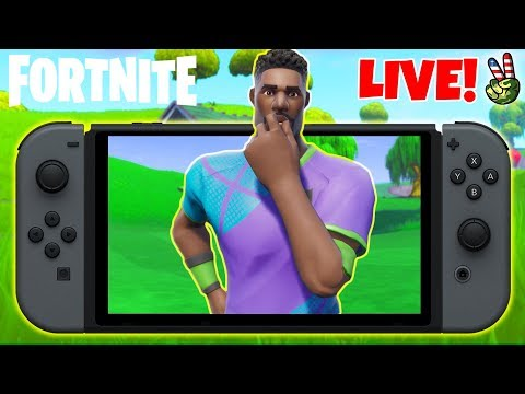 Pro Nintendo Switch Player! // NEW WHISTLE EMOTE! // (Fortnite Battle Royale LIVE) thumbnail