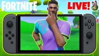 Pro Nintendo Switch Player! // NEW WHISTLE EMOTE! // (Fortnite Battle Royale LIVE)