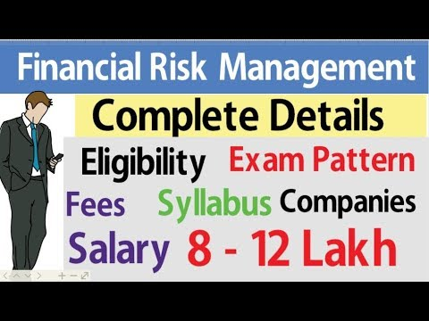 Financial Risk Management ll FRM Course Details ll Eligibility ll Salary l  Exam l Meritech Education