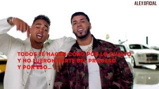 Cambio-Ozuna & anuel (video oficial letra)