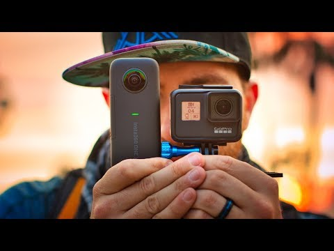 GoPro Hero 7 vs Insta360 One  X - Which is better?