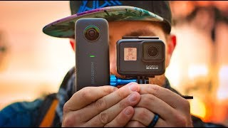 Baixar GoPro Hero 7 vs Insta360 One  X - Which is better?