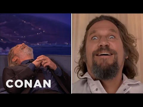 Jeff Bridges' Insane 'Big Lebowski' Story  - CONAN on TBS