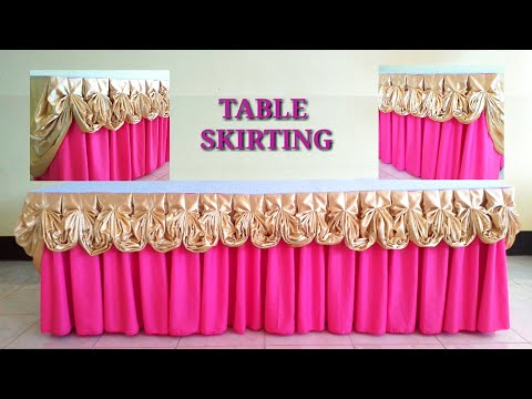 box-pleat-with-butterfly-design-|-double-combination-|-table-skirting