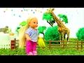 Штеффи, Барби и Кен идут в ЗООПАРК. Развивающие видео для девочек про куклы на Мамы и Дочки