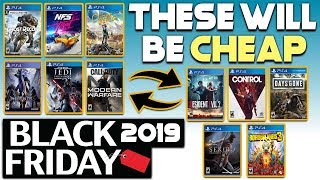10 HUGE PS4 GAMES THAT WILL PROBABLY BE SUPER CHEAP BLACK FRIDAY 2019!
