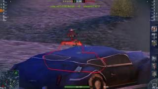 World of Tanks Blitz game play (team work)