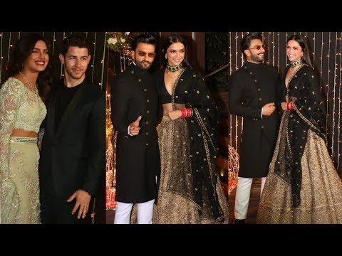 Deepika Padukone and Ranveer Singh grand entry at Priyanka and Nick Jonas wedding reception