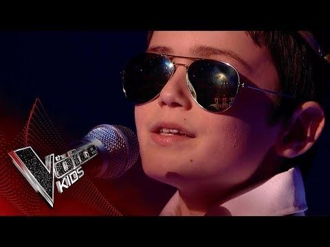 Riley Performs 'Non Je Ne Regrette Rien': Blinds 3 | The Voice Kids UK 2018