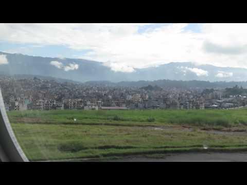 Abflug mit Turkish Airlines in Kathmandu