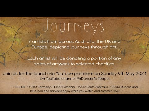 Journeys: A Virtual Art Exhibition for charity