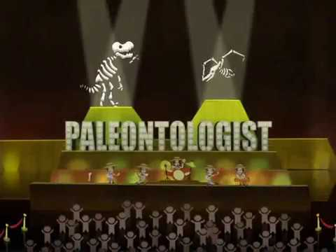 I Am A Paleontologist - They Might Be Giants W/Danny Weinkauf (official TMBG Video)