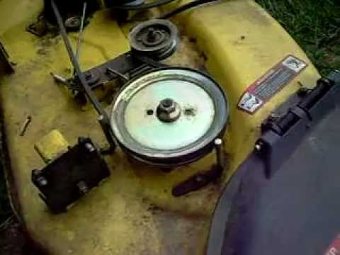 John Deere How To Change Bearings In The Deck Spindles Youtube. John Deere How To Change Bearings In The Deck Spindles. John Deere. 737 John Deere 54 Inch Mower Deck Belt Diagram At Scoala.co