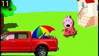 Мультики Свинка Пеппа 11 ОДНА ДОМА на русском peppa pig Мультфильмы для детей свинка пеппа новые