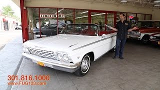 1962 Chevrolet Impala Super Sport for sale with test drive, driving sounds, and walk through video