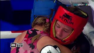 2017 World MMA Championships female 61,2 kg final