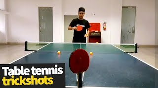Amazing Table Tennis Trick Shots Compilation