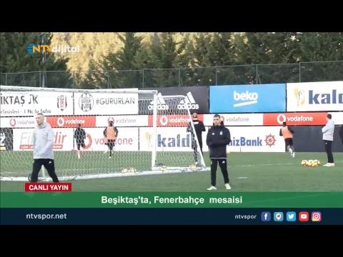 Övünç Özdem, Beşiktaş antrenmanından son gelişmeleri bildiriyor
