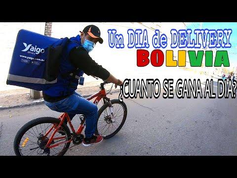 Un DIA siendo REPARTIDOR de Yaigo DELIVERY en BOLIVIA