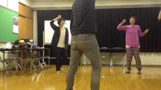 "Japanese theater group KamomeMachine Rehearsal movie ""Prayer""#2 か..."