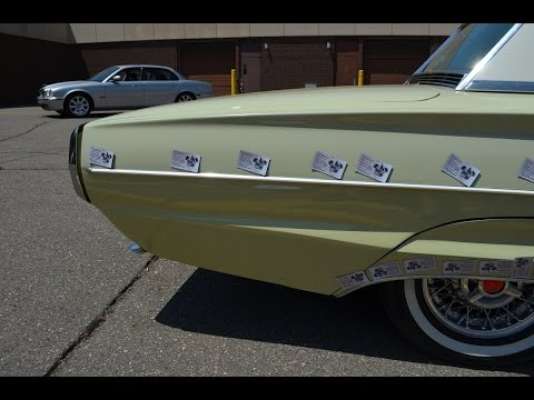 1964 Ford Thunderbird auto inspection in Detroit Mi. pre purchase car appraisal