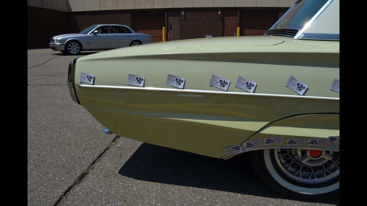 1964 Ford Thunderbird auto inspection in Detroit Mi. pre purchase ...