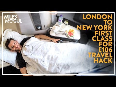 First Class For £106 on British Airways flying from London To New York (via Dublin) - Miles Mogul