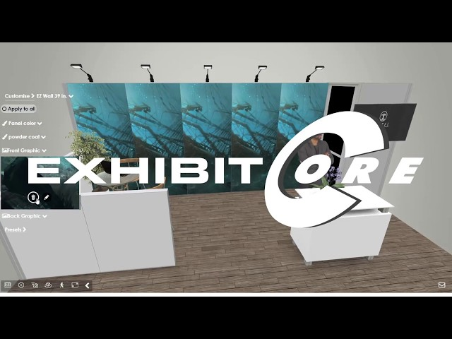 How to create trade show booth in 5 minutes