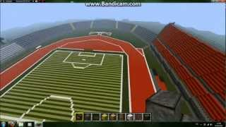 Let´s Show Steigerwaldstadion Minecraft Bauanfang