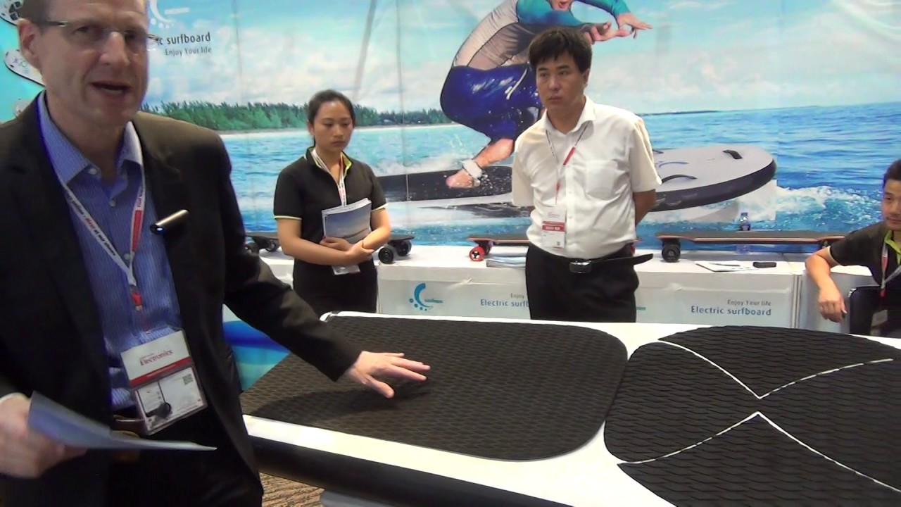 You won't believe this - $4000 Electric Surfboard - 55 kmph for one Hour