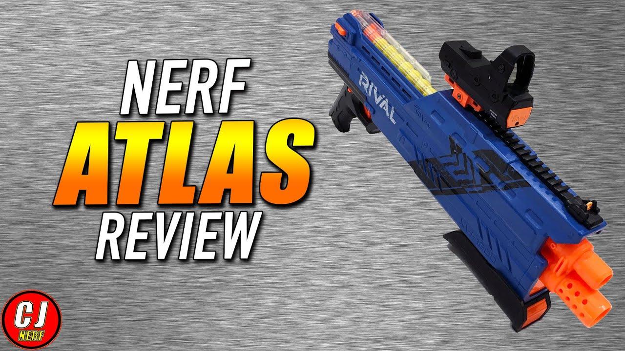 Download Nerf Rival Atlas XVI-1200 Unboxing, Review, & Range Test (2016)