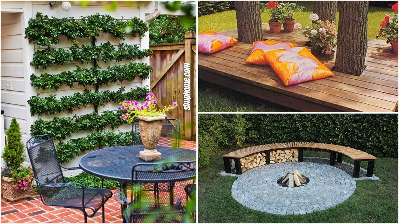 10 Cheap Landscaping ideas for Small Backyards - YouTube on Cheap Backyard Ideas For Small Yards id=93683