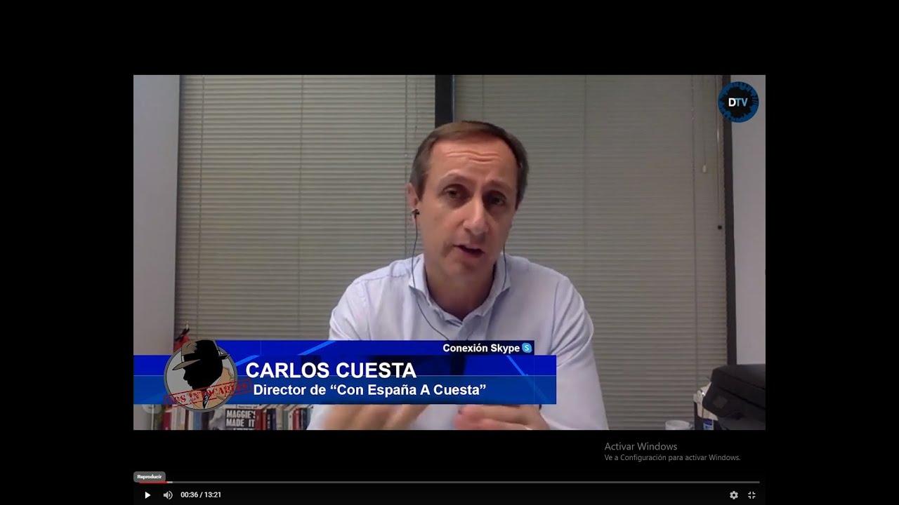 ¡ESCÁNDALO! CARLOS CUESTA:LA OMS EXIGE A SÁNCHEZ QUE DEJE DE MENTIR Y RECONOCER EL NUMERO DE MUERTOS