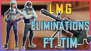 Fortnite - All the Work with the LMG ft. TimTheTatMan - May 2018 | DrLupo