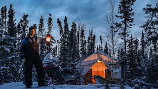 Bush Camp Paradise. BoiĮing Hot Canvas Tent.
