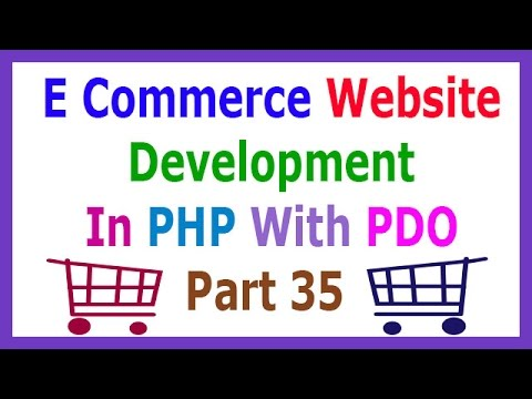E Commerce Website Development In PHP With PDO Part 35 Creating Cart Table And Add Product In Cart