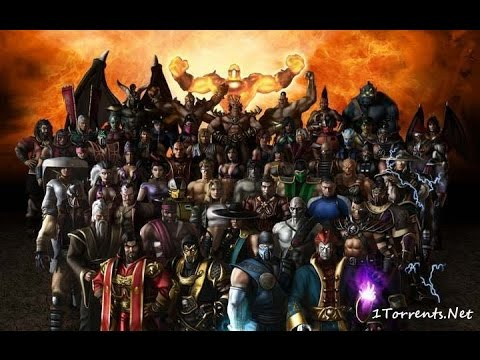 Mortal Kombat X. под музыку Смертельная битва