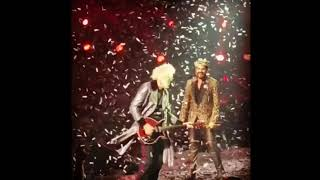 Brian May:  Thank you again Las Vegas and Daniel Nelson 15/09/2018