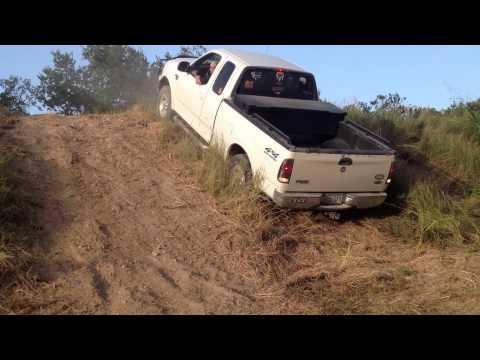 Stock Ford F-150 Hill Climb