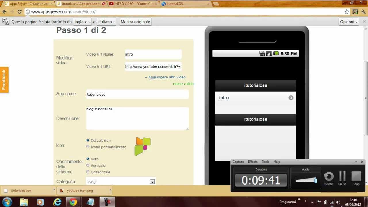 come creare una app per android gratis!! - youtube