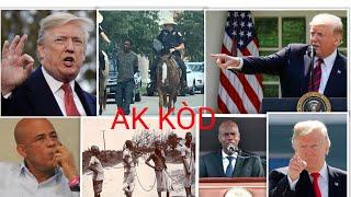 7 AOÛT USA TEXAS BACK ARRÊTÉ AK KÒD PAR LA POLICE TRUMP HAITI NEWS