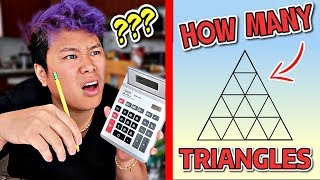 Grown Men Take A 5th Grader Test?! (YOU WILL FEEL DUMB)