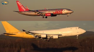 COLOGNE Airport planespotting 2020 - sunny afternoon arrivals and departures