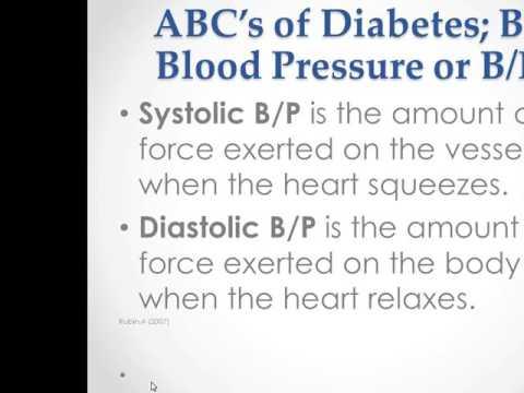 ABC's of Diabetes