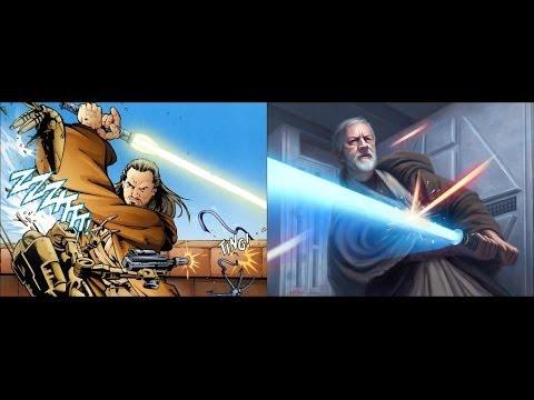 Versus Series: Qui-Gon Jinn Vs. Old Ben Kenobi