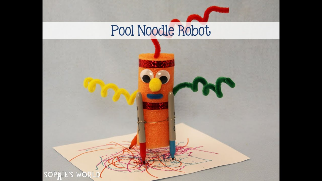 Summer is over, so here are 7 new uses for old pool ...  |Art Bot Pool Noodle