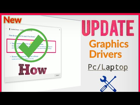 How to Properly Update Graphics Drivers in Windows PC/Laptop (Step by Step)