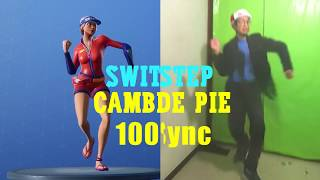Fortnite: Foot Change SWITCHSTEP 🥁100% Synchronized - Real Life Dances