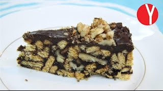 Tarta fácil de Chocolate SIN HORNO